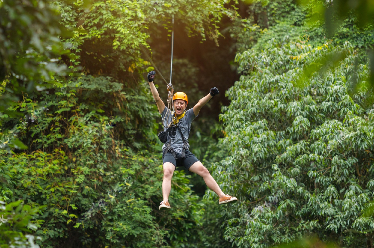 Chiang Mai Zip-line Adventure