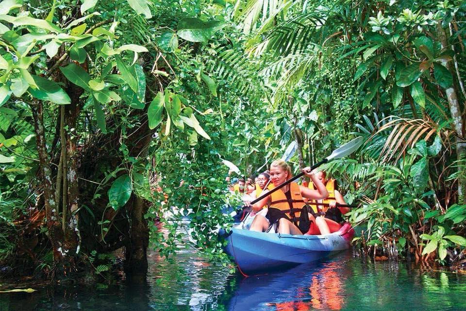 Krabi Kayaking in Hidden lagoon